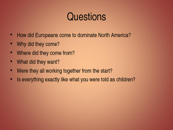 America Past and Present 9e Chapter 2 Powerpoint,  AP US History