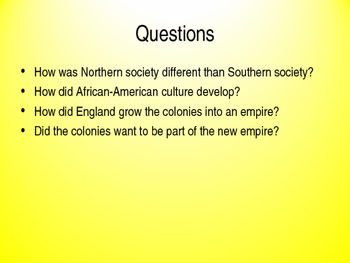 America Past and Present 9e Chapter 3 Powerpoint,  AP US History