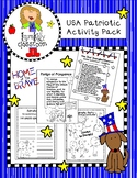 America Patriotic Activity Pack