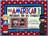 America! Presidents and U.S Symbols Unit...Literacy & Math Activities & 2 Crafts