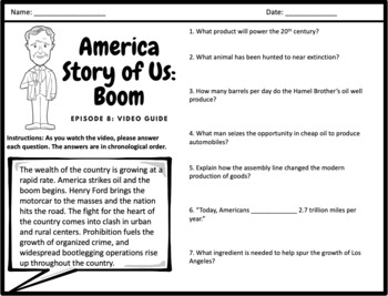 """America Story of Us: """"Boom"""" - Complete Video Guide"""