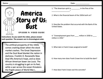 "America Story of Us: ""Bust"" - Complete Video Guide"