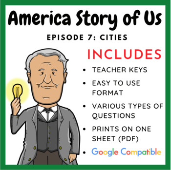 """America Story of Us: """"Cities"""" -  Complete Video Guide"""