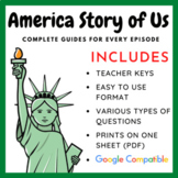 America the Story of Us Video Viewing Guides - Complete Series - Amazing Price!