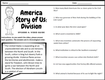 """America Story of Us: """"Division"""" - Complete Video Guide"""