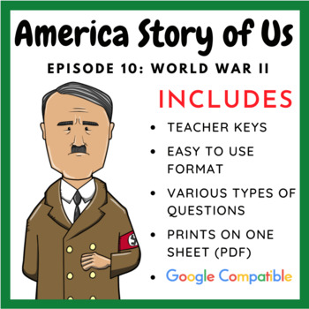 "America Story of Us: ""World War II"" - Complete Video Guide"