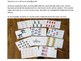 Task Cards American Symbols Count to 20 Count and Clip Car