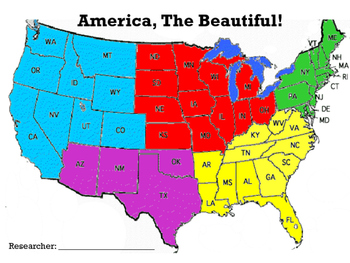 Five Regions Of Us States - Www.healthgain.store •
