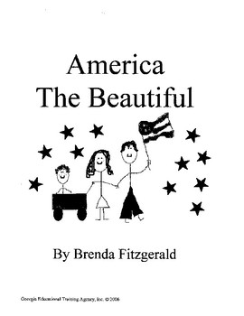 America The Beautiful - First Ten Pages