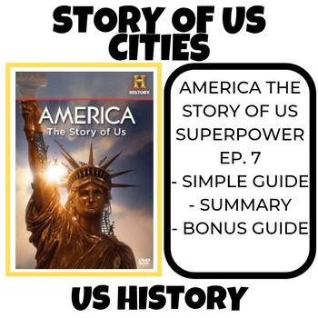 The Story of US- Cities History Channel (Episode 7)