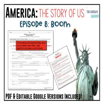 america the story of us episode 8 boom tpt. Black Bedroom Furniture Sets. Home Design Ideas