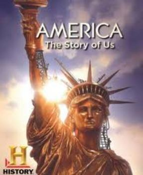 America The Story of US - Twelve Video Viewing Guides with Keys