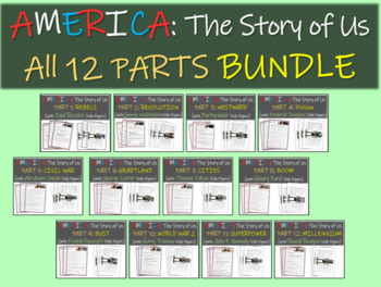 America: The Story of Us (ALL 12 PARTS BUNDLE)