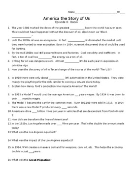 America The Story of Us: Boom (Episode 8) Video Guide by ...