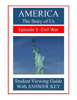 america the story of us civil war episode 5 video guide by randy tease. Black Bedroom Furniture Sets. Home Design Ideas