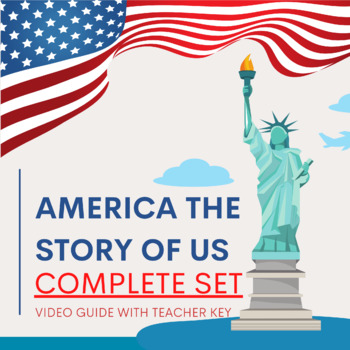 America The Story of Us Complete Set of Video Guides