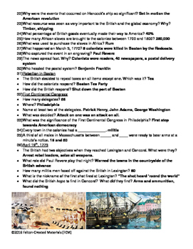 "America: The Story of Us (Episode 1-""Rebels"") Worksheet"