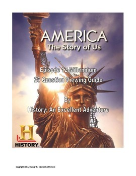 america the story of us episode 12 millennium viewing guide tpt. Black Bedroom Furniture Sets. Home Design Ideas