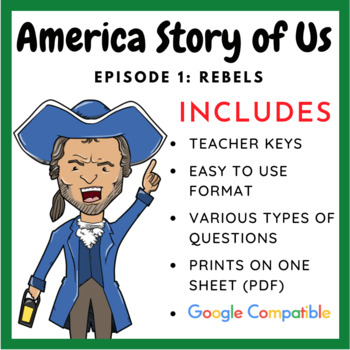america the story of us rebels complete video guide by william pulgarin. Black Bedroom Furniture Sets. Home Design Ideas