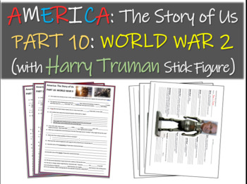 America: The Story of Us PART 10: WORLD WAR 2 w/ Franklin Roosevelt stick figure
