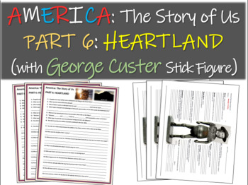 America: The Story of Us PART 6: HEARTLAND w George Custer stick figure