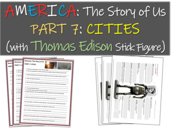America: The Story of Us PART 7: CITIES w Thomas Edison st