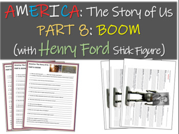 America: The Story of Us PART 8: BOOM w Henry Ford stick figure