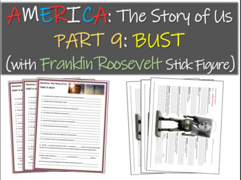 America: The Story of Us PART 9: BUST w Franklin D. Roosev