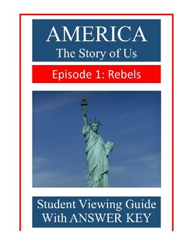 america the story of us rebels episode 1 video guide by randy tease. Black Bedroom Furniture Sets. Home Design Ideas