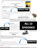America The Story of Us - Video Worksheet BUNDLE ALL 12 EPISODES
