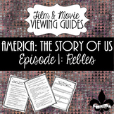 America: The Story of Us Viewing Guide--Episode 1 Rebels (NO PREP)
