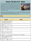 America: The Story of Us Viewing Guides (Google Docs)