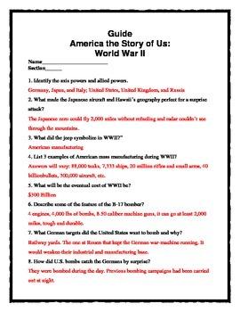 America: The Story of Us -- World War II