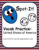 American-Themed Spot It/Dobble/Vocabulary Game