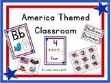 America Themed Classroom