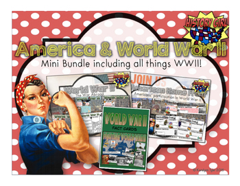 America & WWII: World War II Abroad and American Home Front Bundle