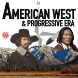 America West - Native Americans - Cowboys - Progressive Era US History Bundle