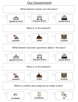 America and Government Test/Quiz