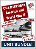 World War 2/Two and America - 85+ Pages/Slides of Learning