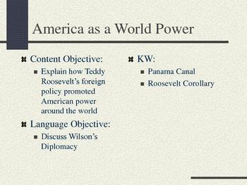 America as a World Power