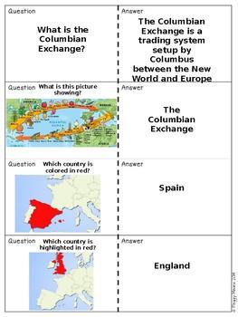 America exploration Quiz, Quiz, Trade