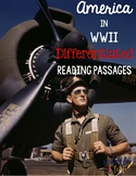 America in World War II Differentiated Reading Passages