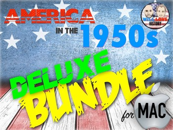 America in the 1950's Deluxe Bundle - Keynote Version (MAC USERS ONLY)