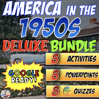 America in the 1950's Deluxe Bundle - PowerPoint Version (PC USERS ONLY)