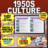 America in the 1950's | Fifties Culture | Distance Learning Pack