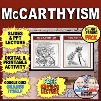 America in the 1950's: McCarthyism Bundle