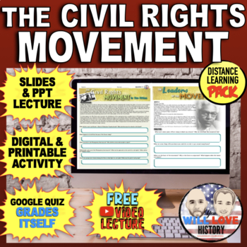 America in the 1950's: The Fight for Civil Rights Bundle