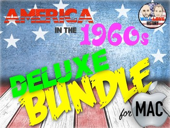 America in the 1960's Deluxe Bundle - Keynote Version (MAC USERS ONLY)