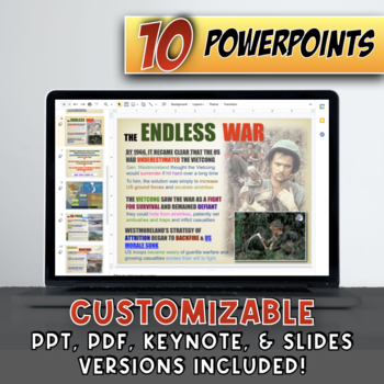 America in the 1960's Deluxe Bundle - PowerPoint Version (PC USERS ONLY)