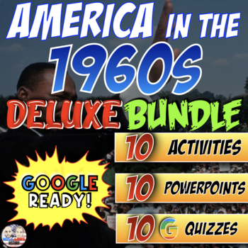 America in the 1960's Deluxe Bundle - PowerPoint Version (